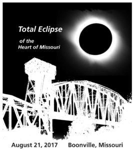 Missouri Solar Eclipse T-Shirt Boonville Missouri MO